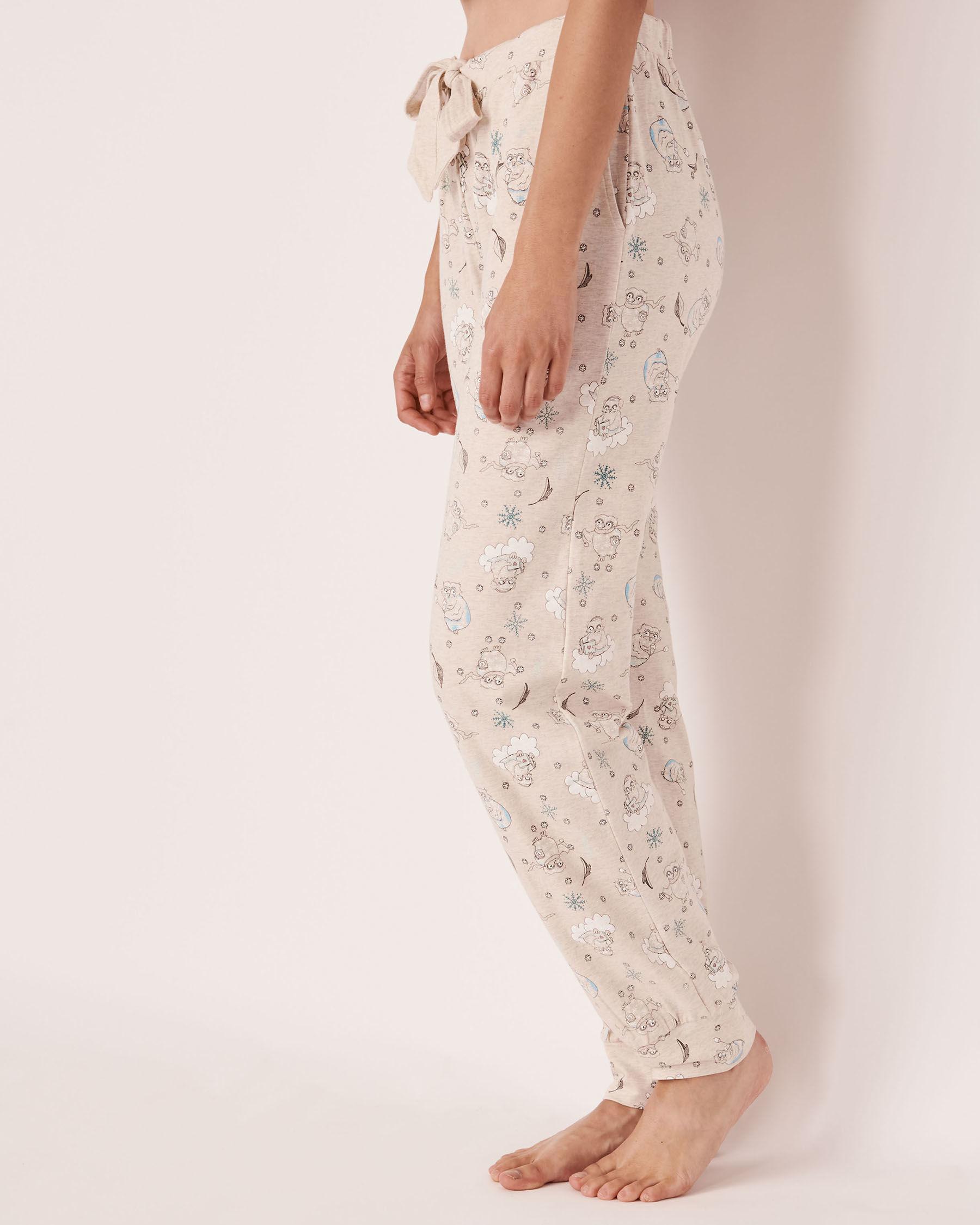 LA VIE EN ROSE Organic Cotton Fitted Pant Owl 40200144 - View1