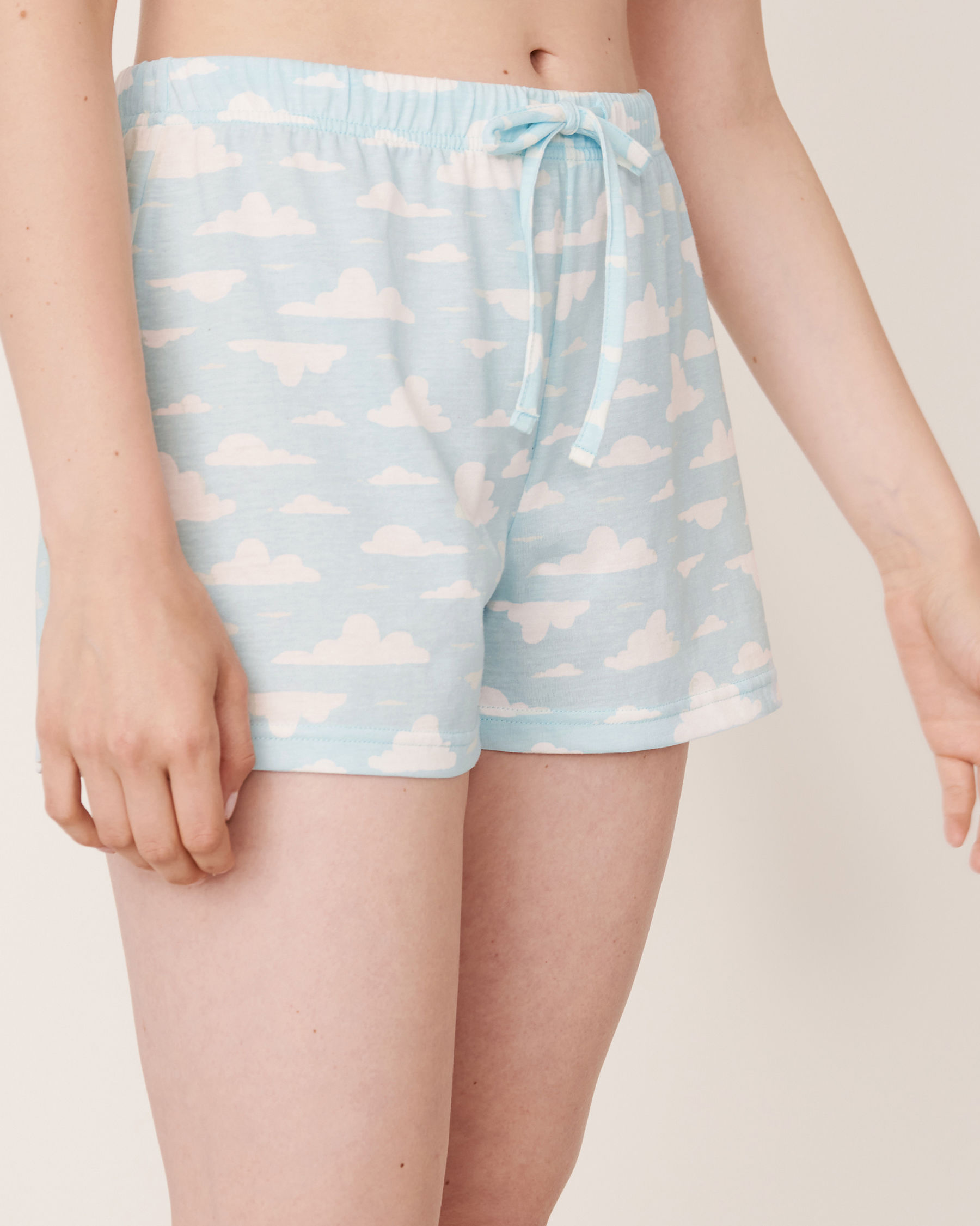 LA VIE EN ROSE Pyjama Short Clouds 40200158 - View1