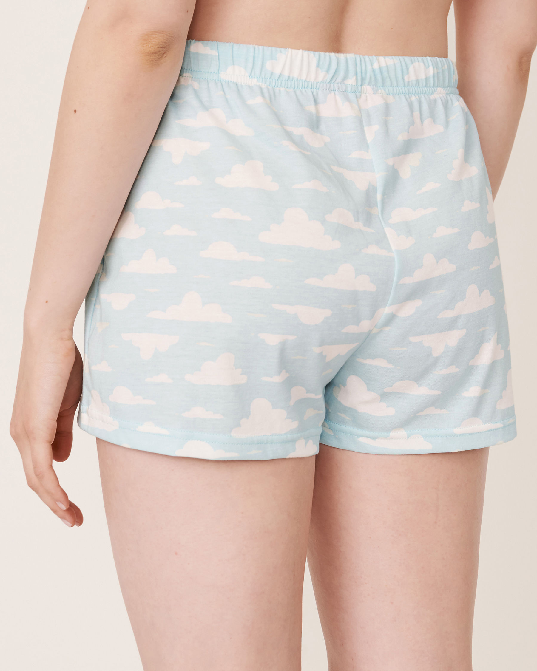 LA VIE EN ROSE Pyjama Short Clouds 40200158 - View2