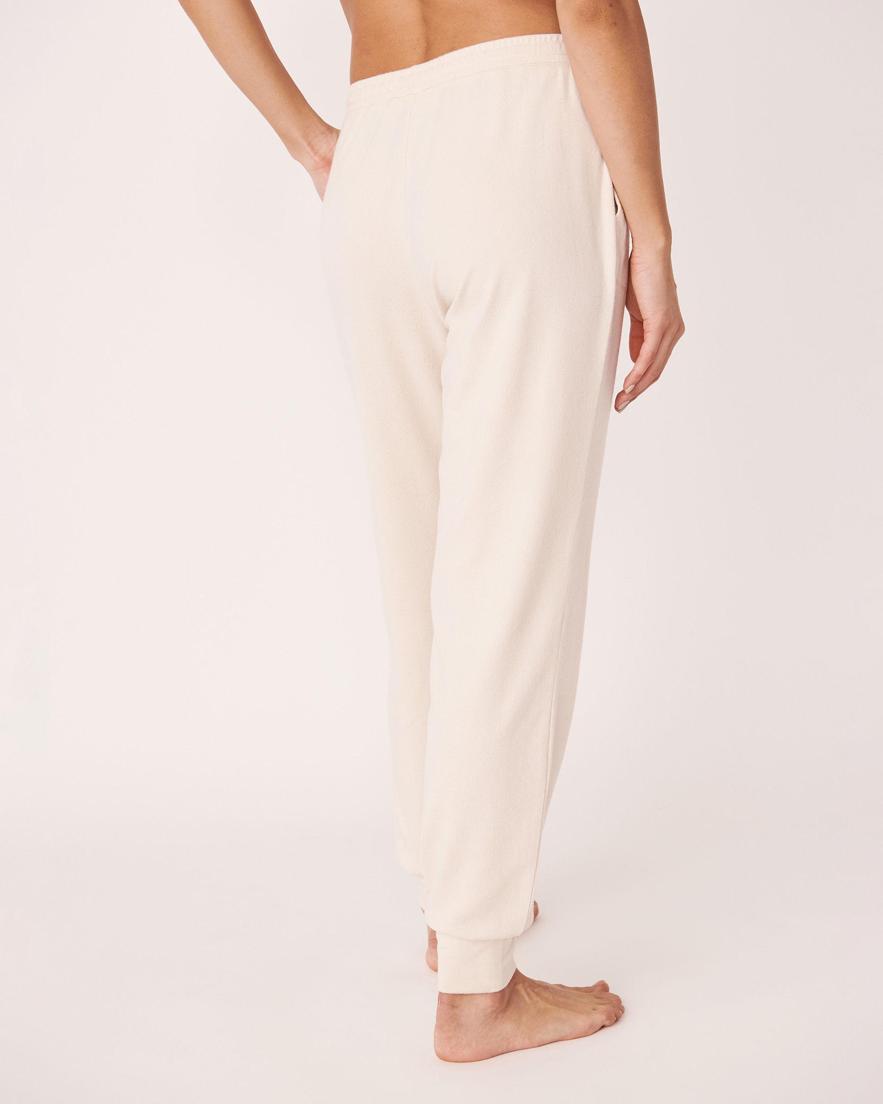 LA VIE EN ROSE Recycled Fibers Fitted Pyjama Pant Grey mix 40200129 - View2