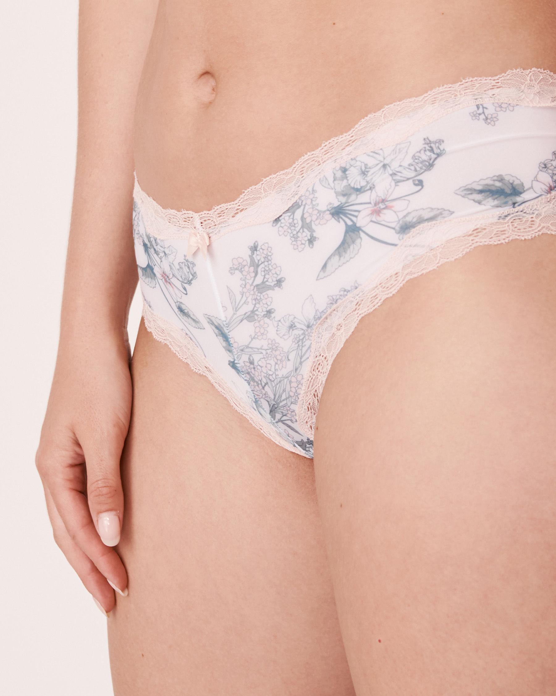 LA VIE EN ROSE Cheeky Panty Flower bouquet 20200046 - View1