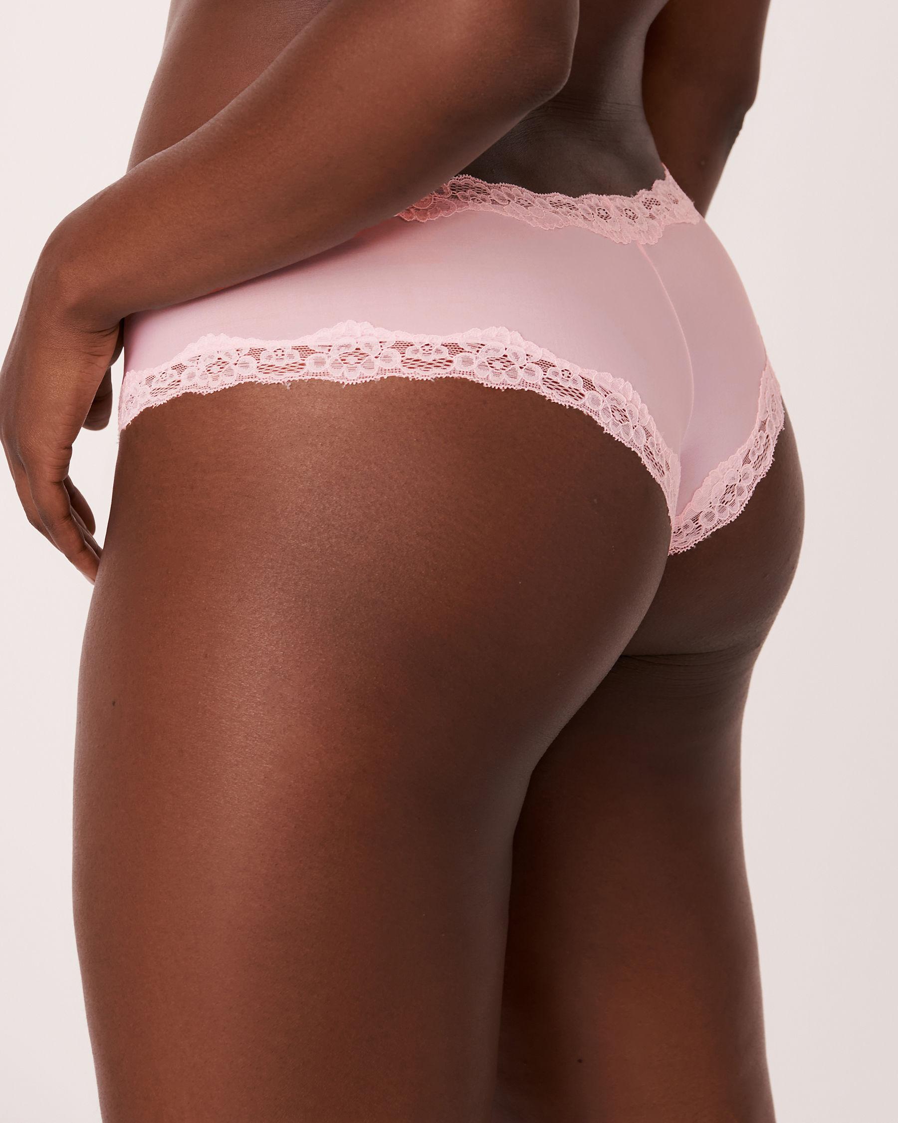 LA VIE EN ROSE Culotte cheeky Rose 018-225-0-00 - Voir2