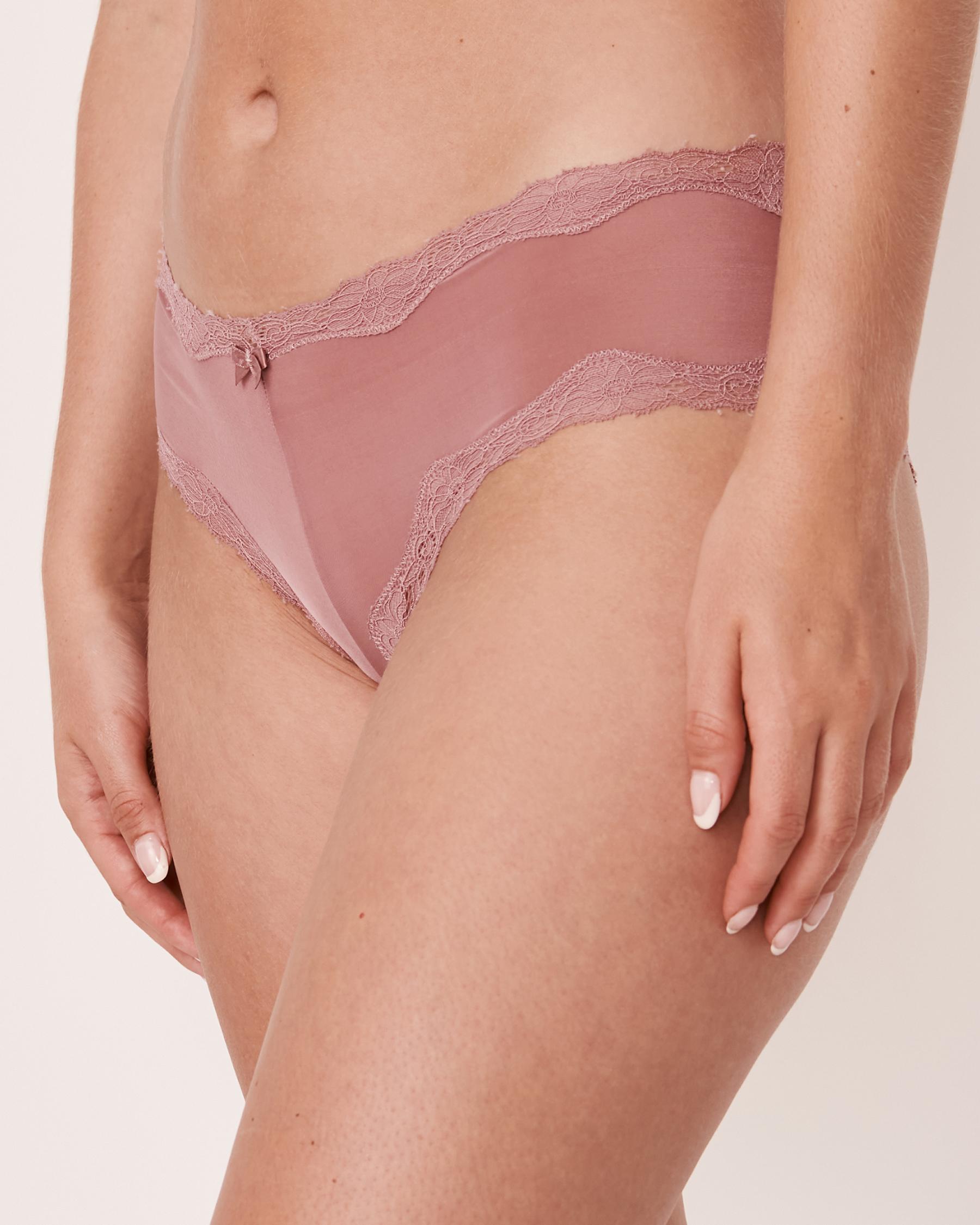 LA VIE EN ROSE Cheeky Panty Old pink 20200075 - View1