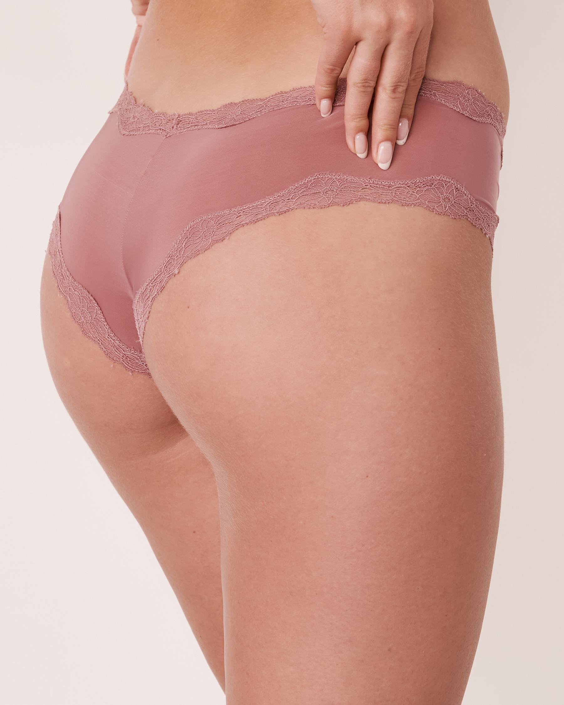 LA VIE EN ROSE Cheeky Panty Old pink 20200075 - View2