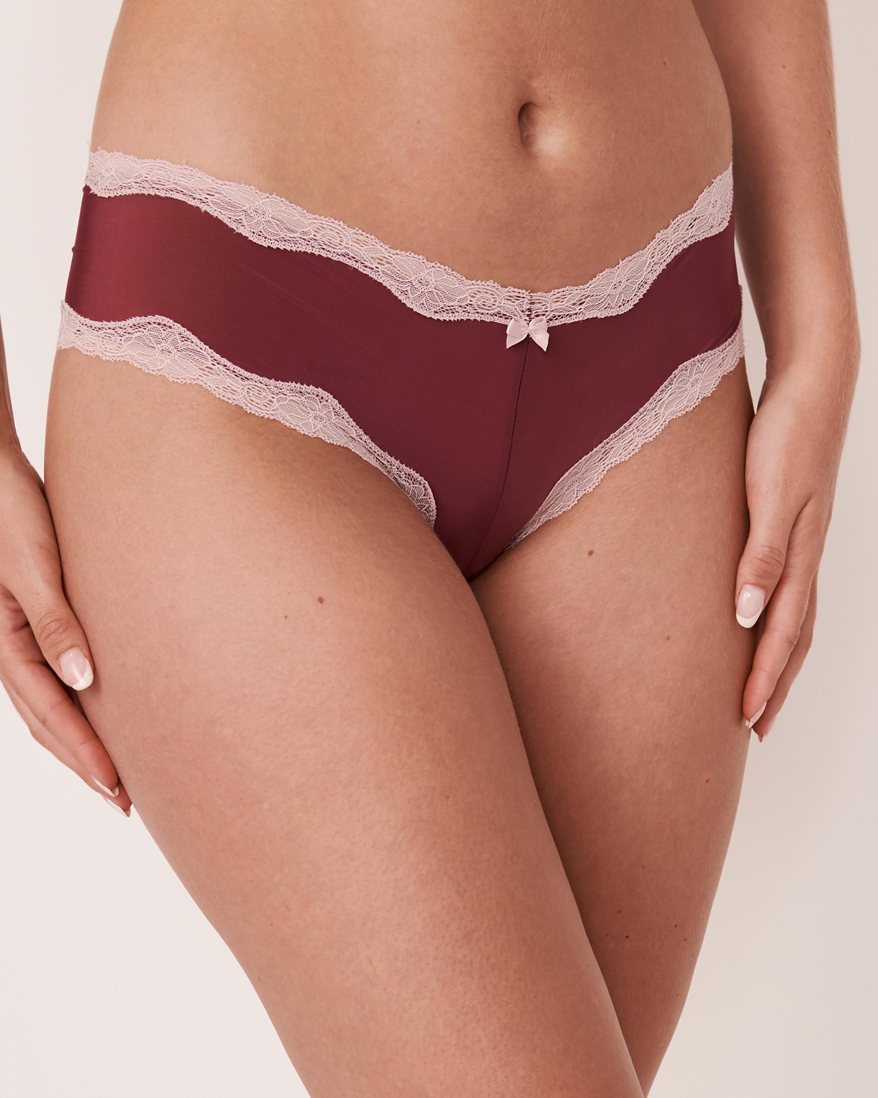 LA VIE EN ROSE Cheeky Panty Prune 20200075 - View1