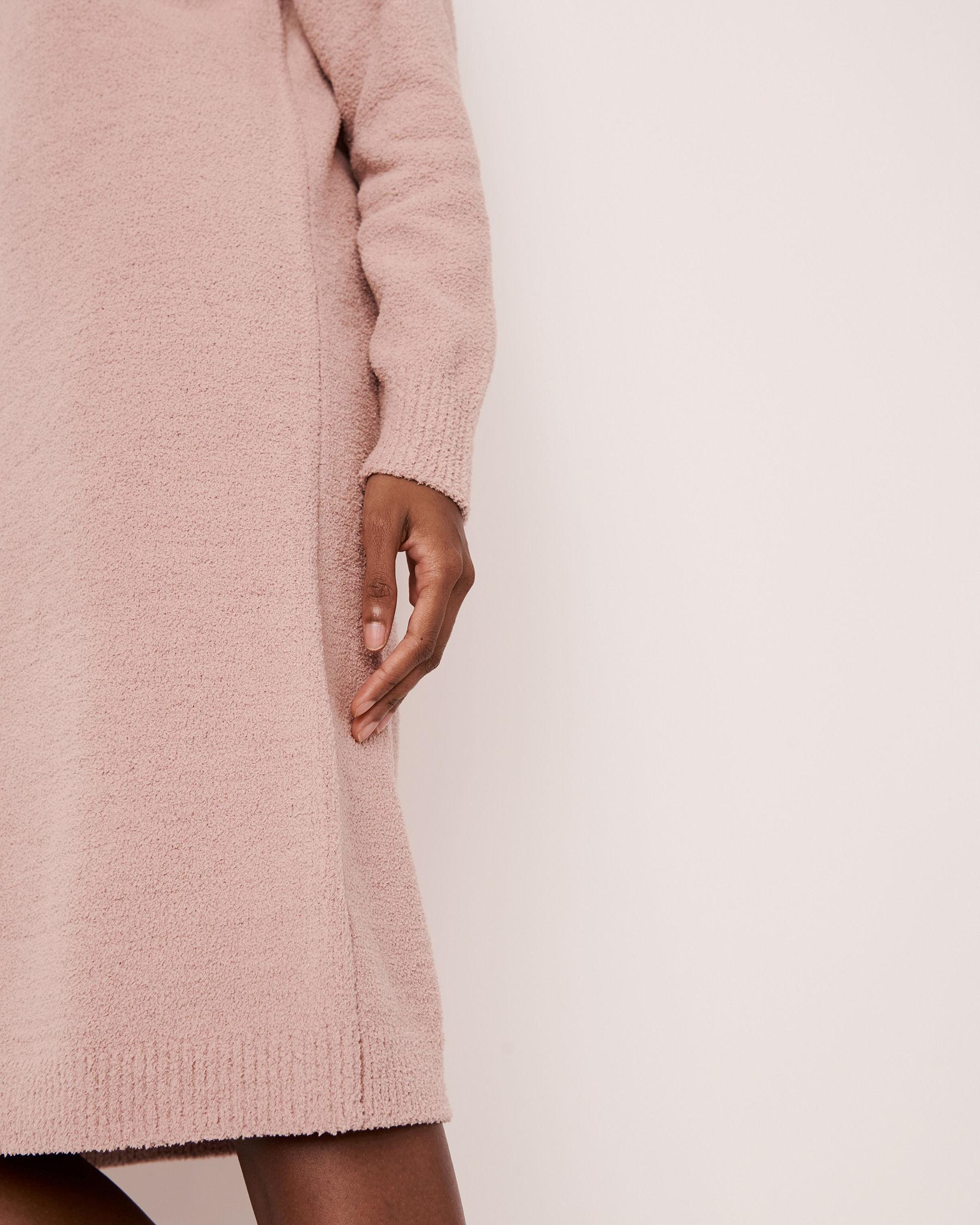 LA VIE EN ROSE Chenille Long Sleeve Dress Shadow grey 50400011 - View7