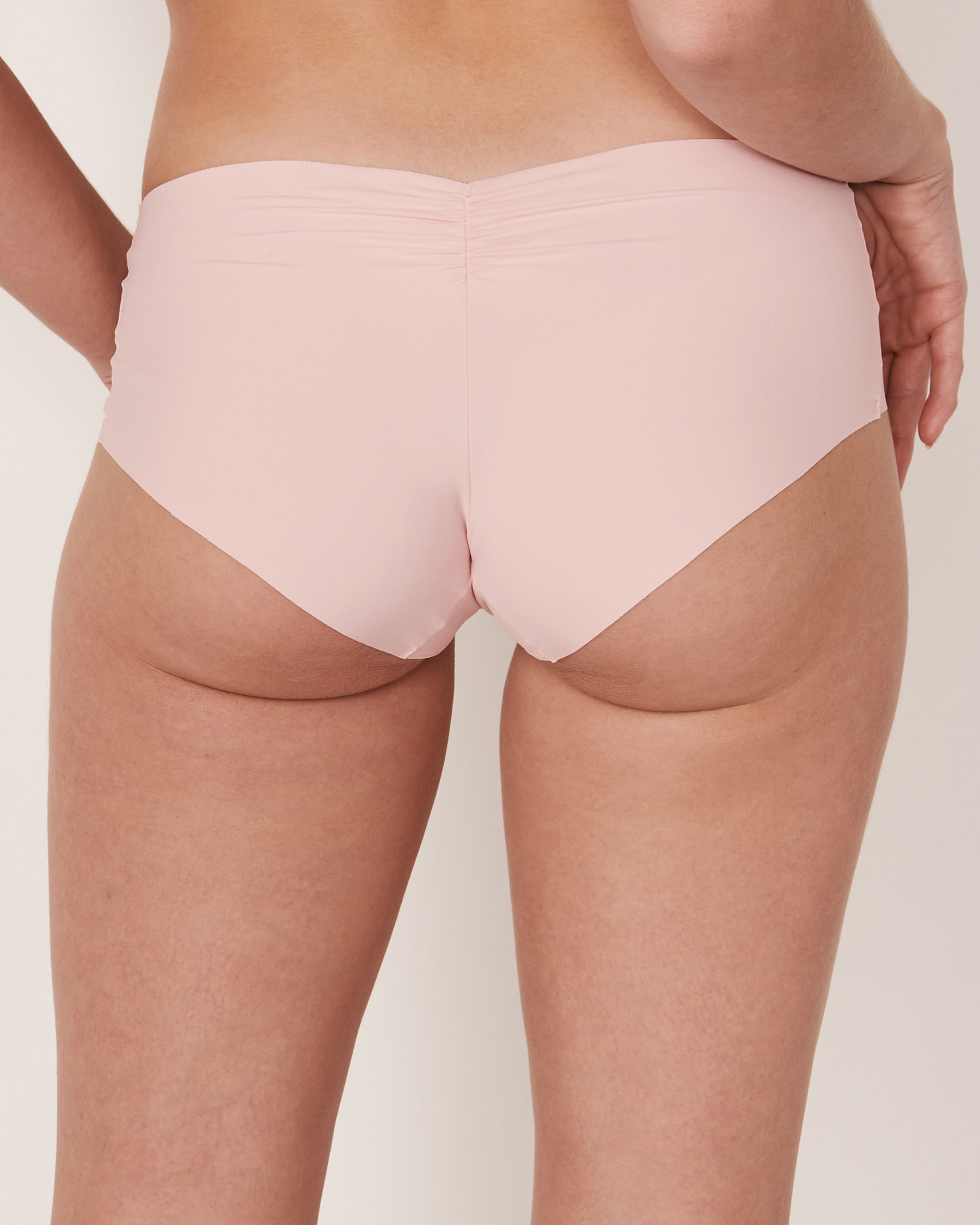 LA VIE EN ROSE Seamless Hiphugger Panty Light pink 20200048 - View2