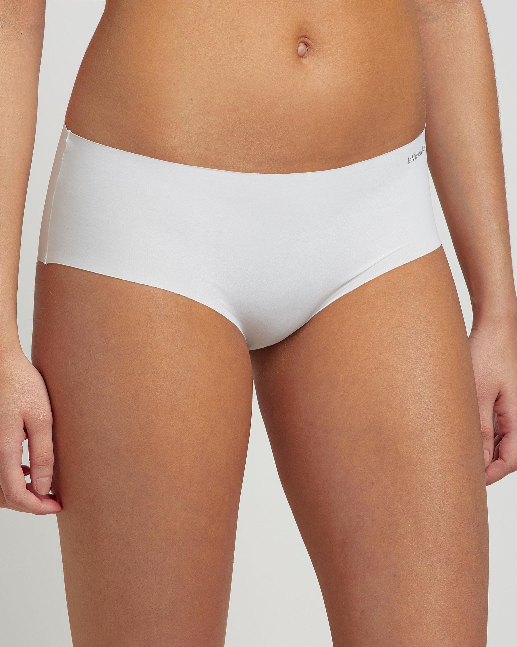 LA VIE EN ROSE Hiphugger Panty White 619-223-1-00 - View1