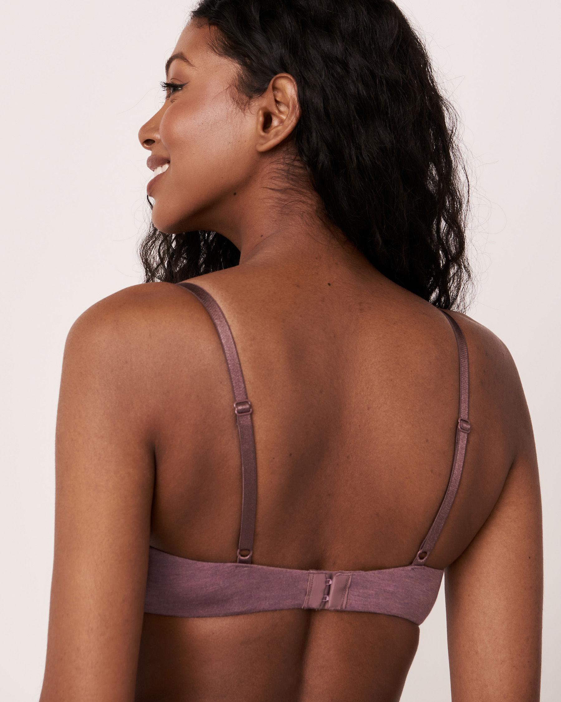 LA VIE EN ROSE Lightly Lined Demi Modal Bra Purple mix 10200050 - View2