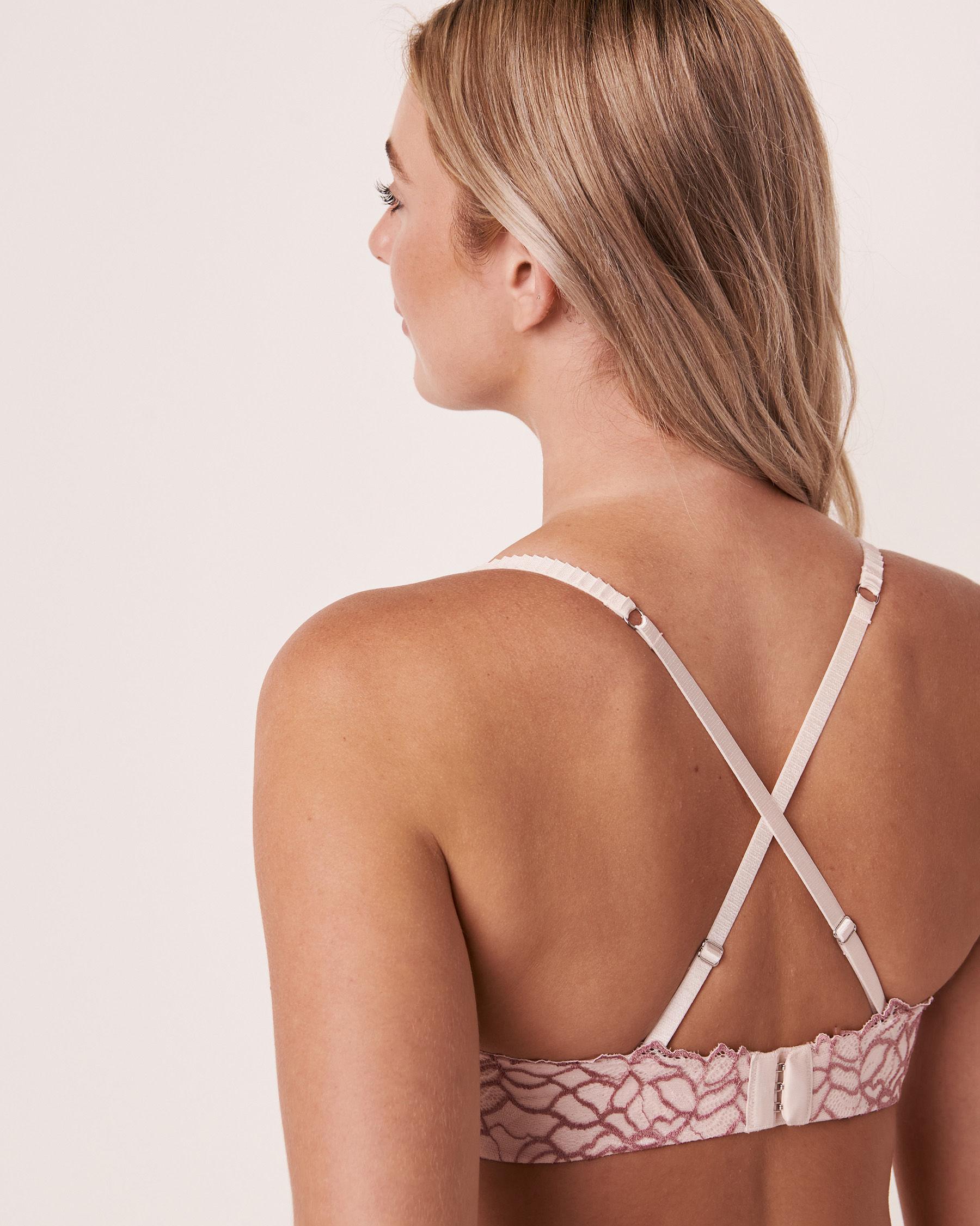 LA VIE EN ROSE Lightly Lined Memory Foam Strapless Bra Light pink 10200080 - View3