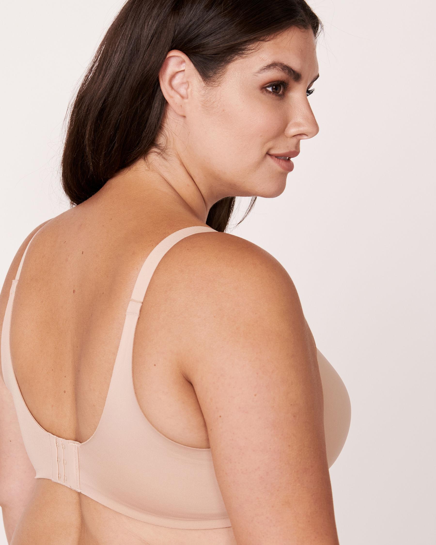 LA VIE EN ROSE Lightly Lined Sleek Back Bra Neutral 169-113-1-00 - View2