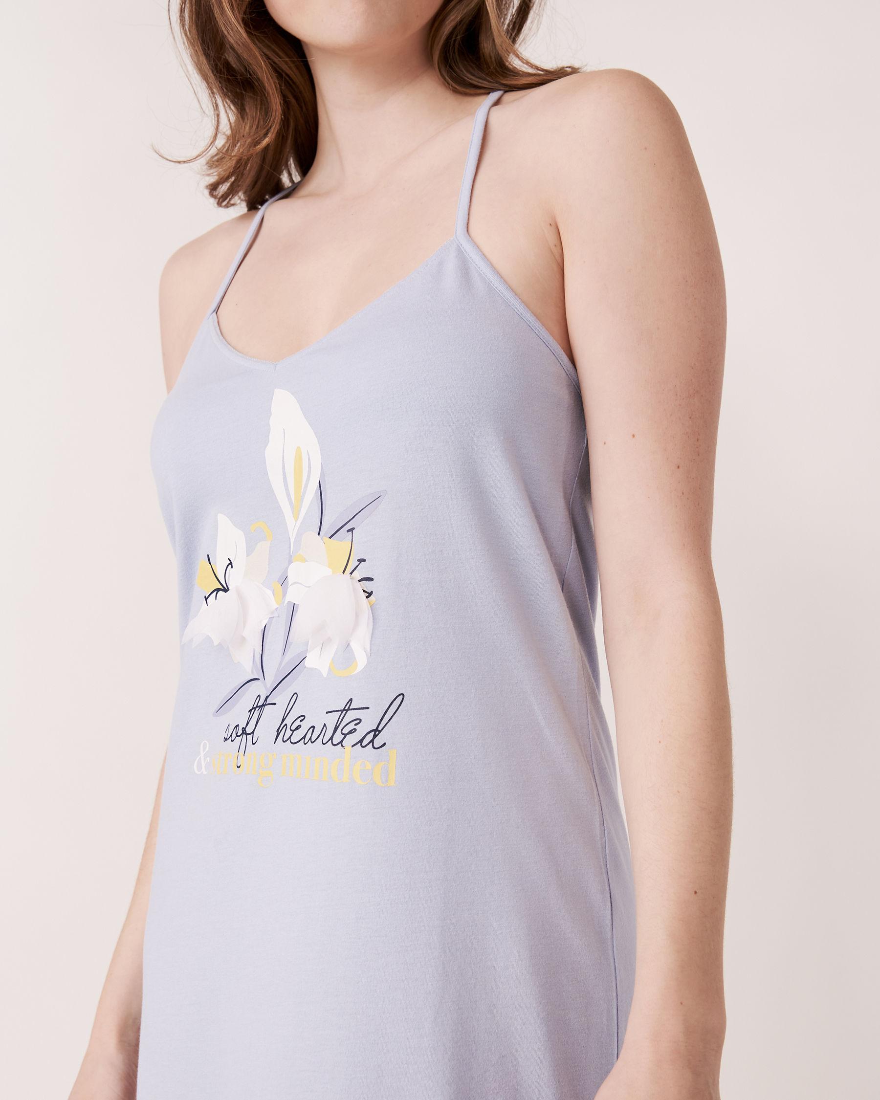 LA VIE EN ROSE 3D Petals Gown Blue sky 40500011 - View3