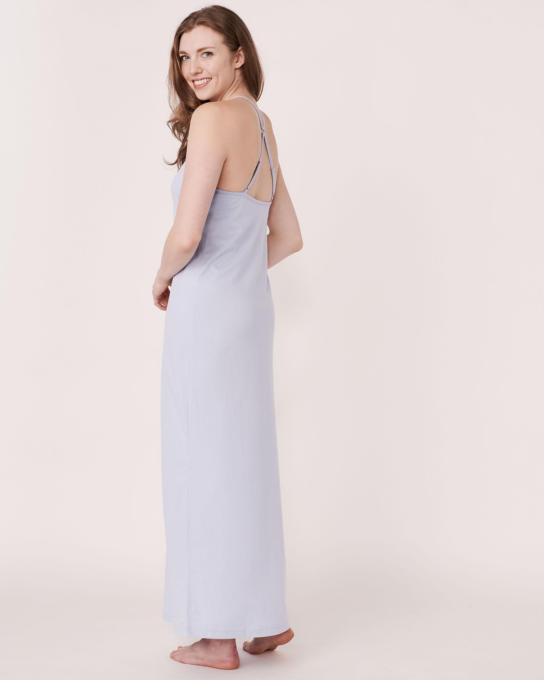 LA VIE EN ROSE 3D Petals Gown Blue sky 40500011 - View4