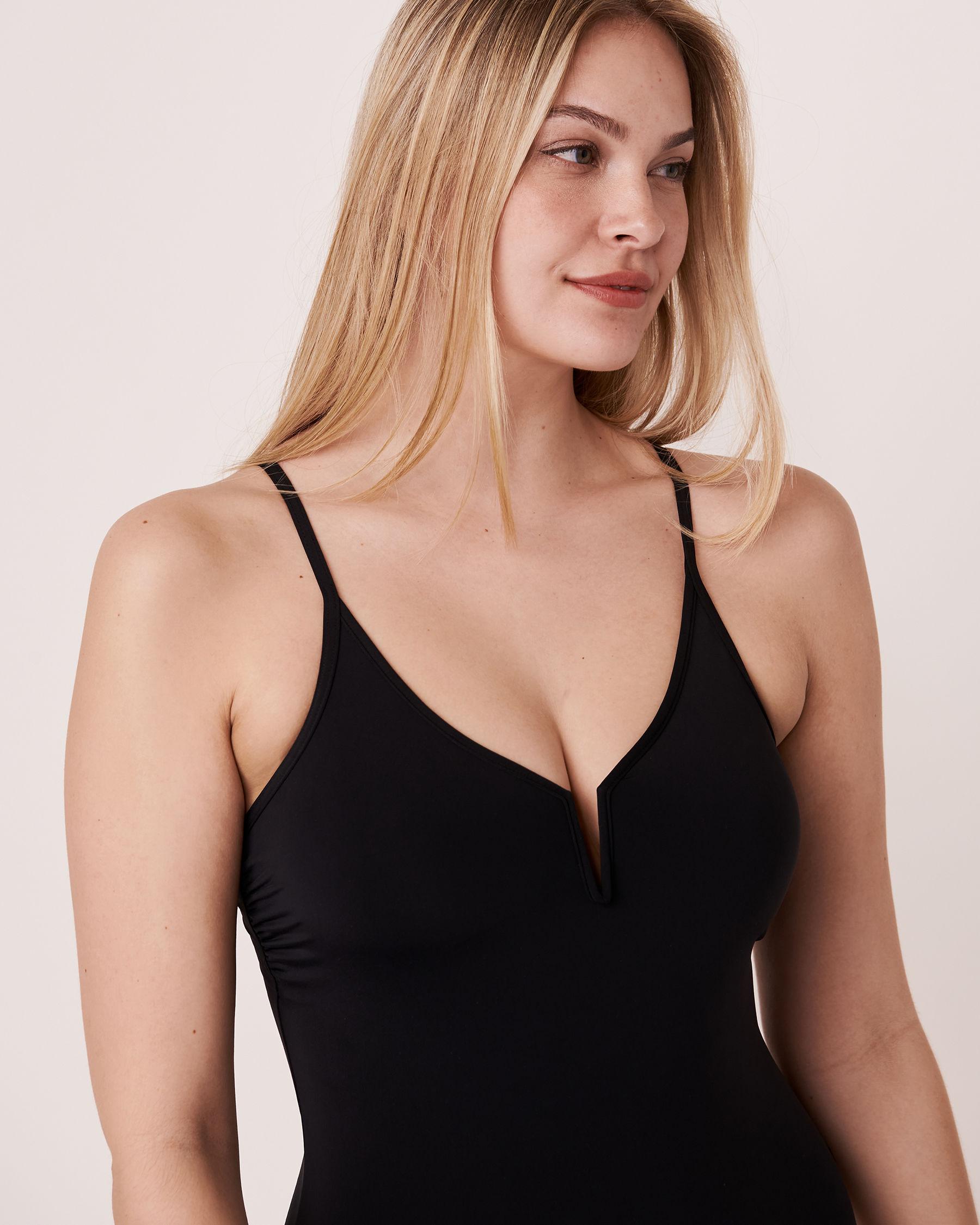 AQUAROSE HAILEY One-piece Swimsuit Black 70400012 - View4