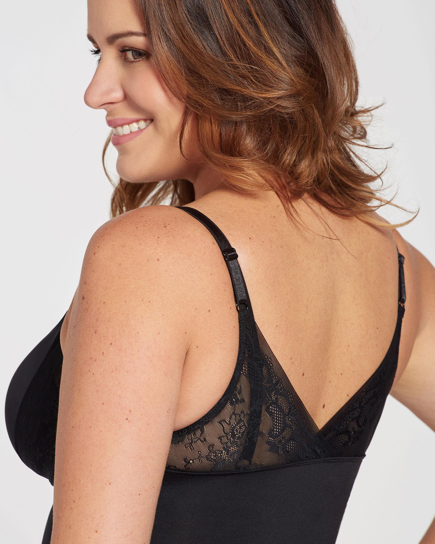 LA VIE EN ROSE Dress Control Black 897-126-0-00 - View2