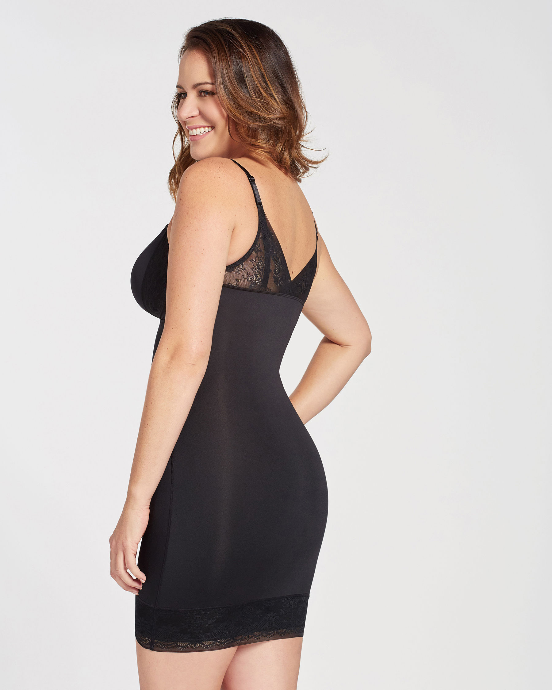 LA VIE EN ROSE Dress Control Black 897-126-0-00 - View4