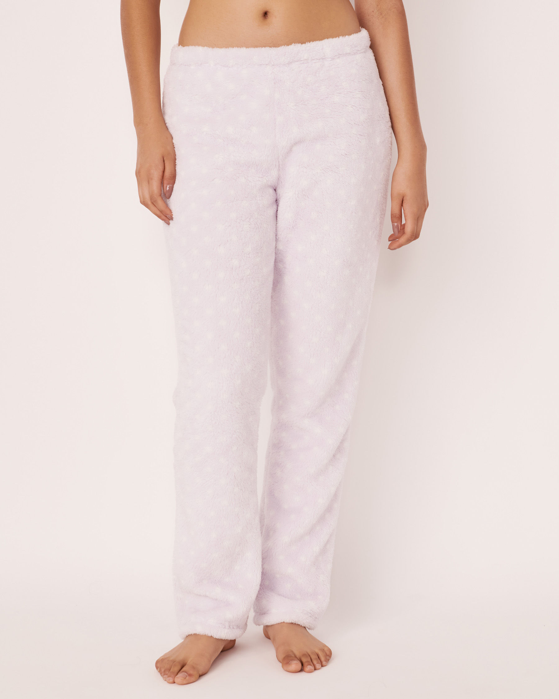 LA VIE EN ROSE Ensemble pyjama mouton 3D Blanc 40400009 - Voir4