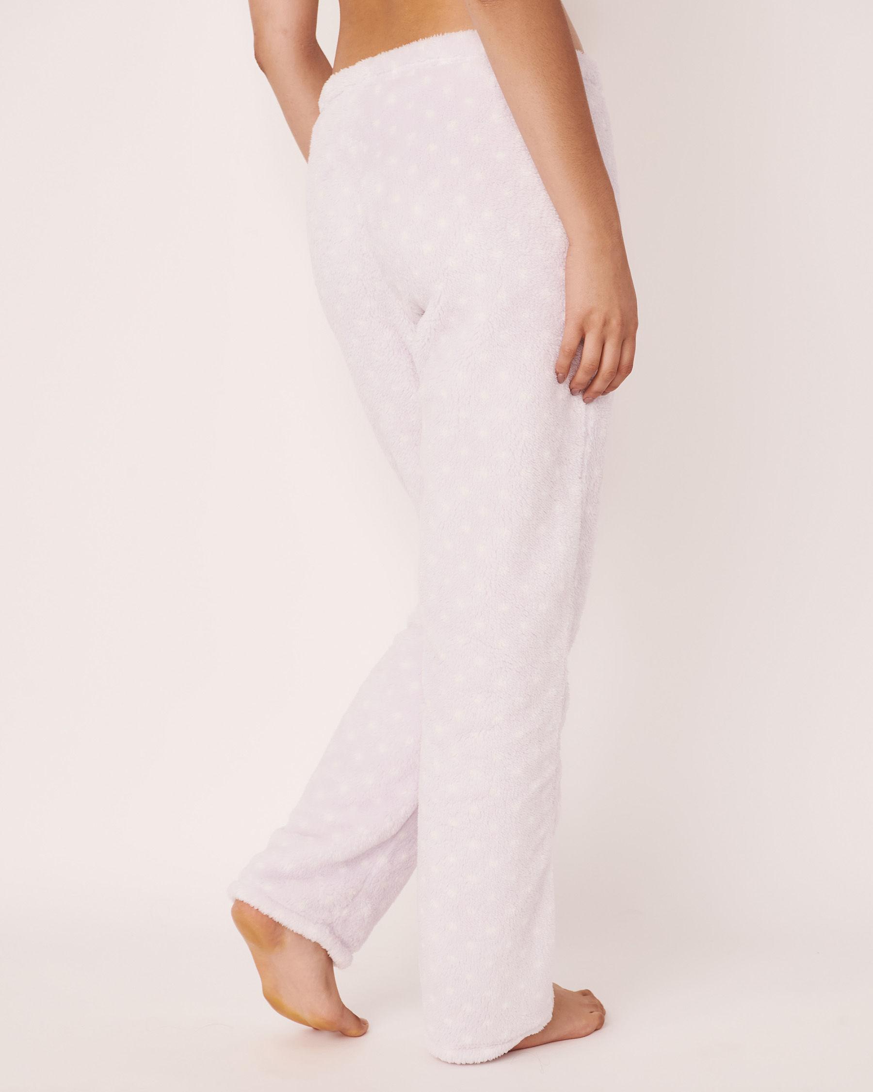 LA VIE EN ROSE Ensemble pyjama mouton 3D Blanc 40400009 - Voir5