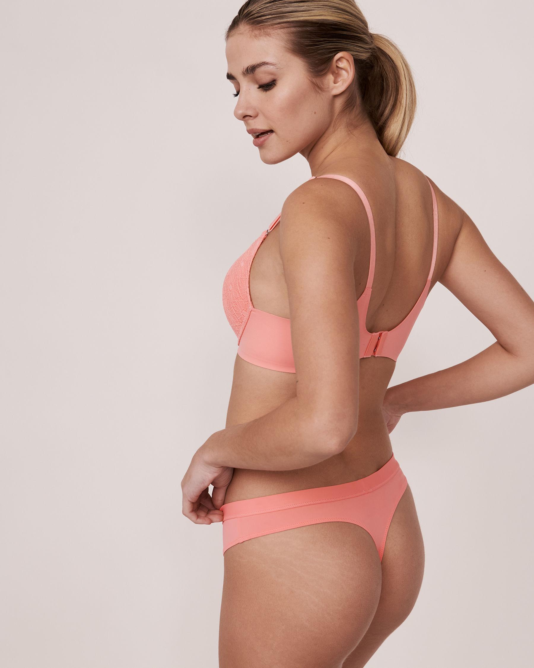 LA VIE EN ROSE Push-up Wireless Sleek Back Bra Pink 10300011 - View2