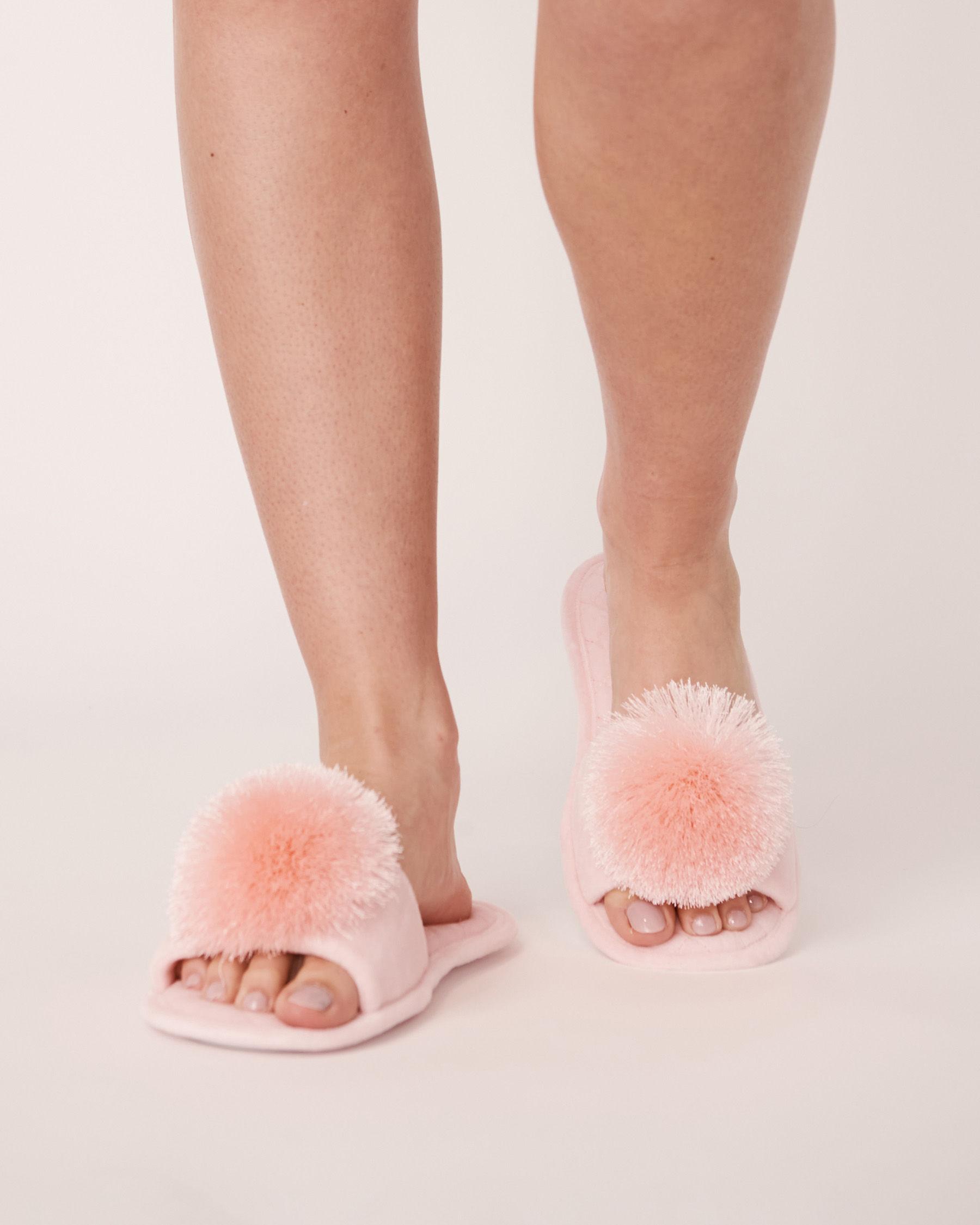LA VIE EN ROSE Open Slide Slippers Light pink 40700040 - View1