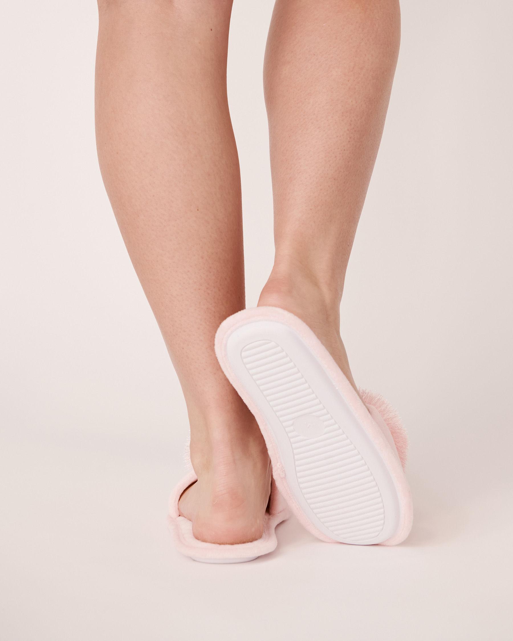 LA VIE EN ROSE Open Slide Slippers Light pink 40700040 - View2