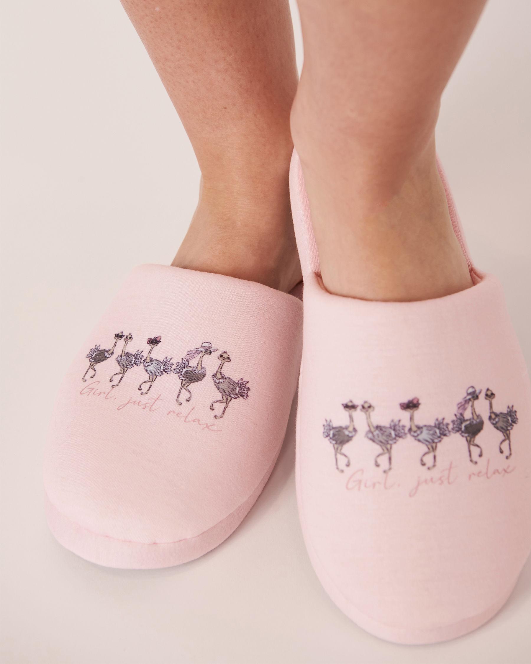 LA VIE EN ROSE Pantoufles mules Rose 40700051 - Voir1