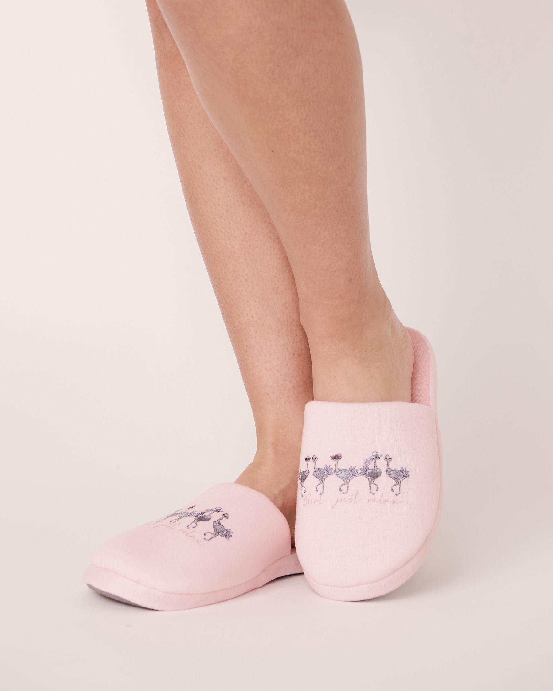 LA VIE EN ROSE Pantoufles mules Rose 40700051 - Voir3