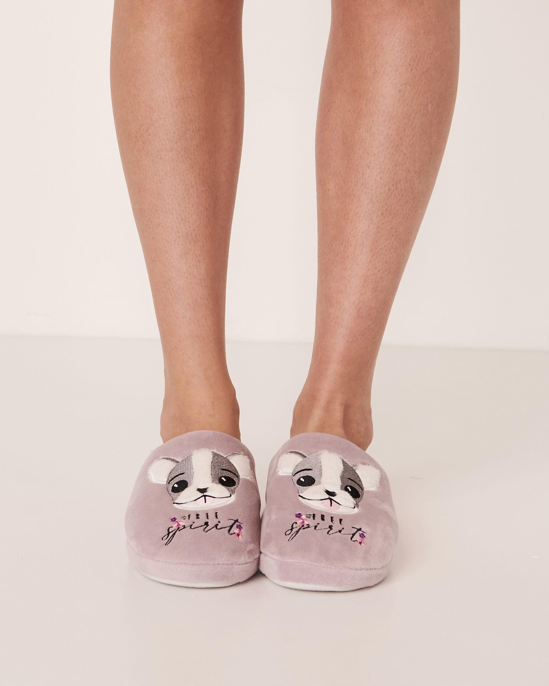 LA VIE EN ROSE Clog Slippers Lilac 40700018 - View3