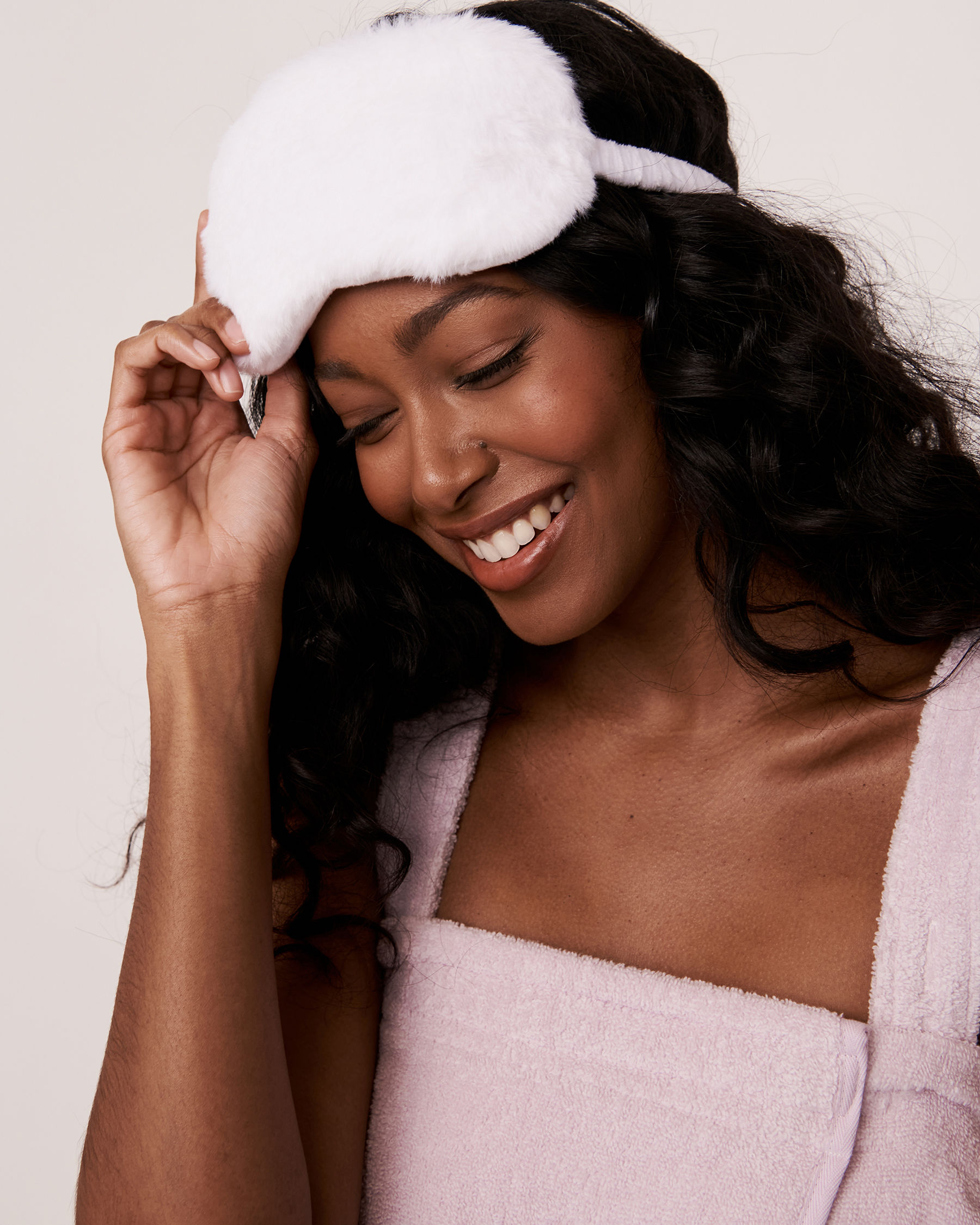 LA VIE EN ROSE Masque de nuit chaud-froid Blanc 40700024 - Voir1