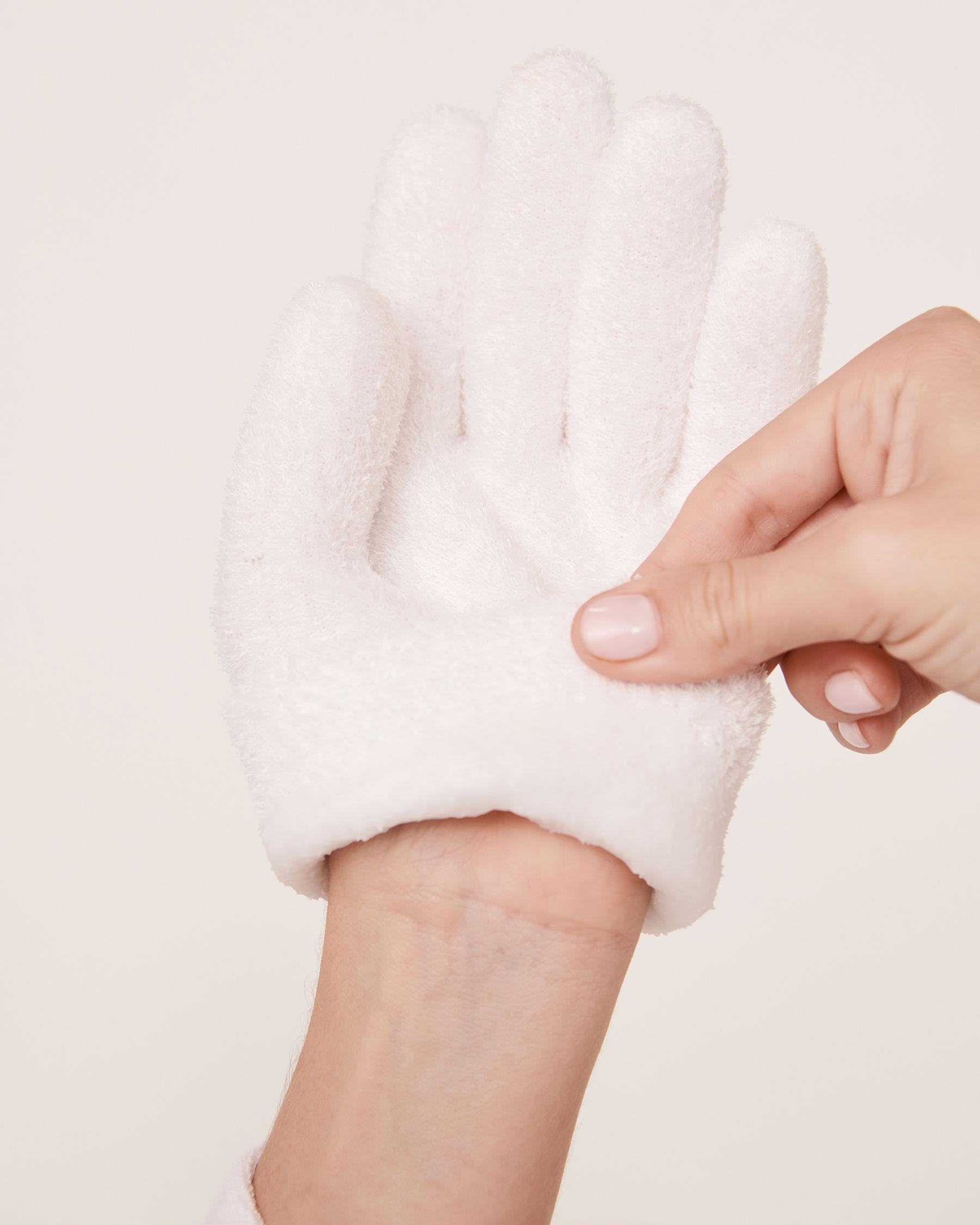 LA VIE EN ROSE Eucalyptus Moisturizing Gel Gloves White 431-527-0-00 - View2