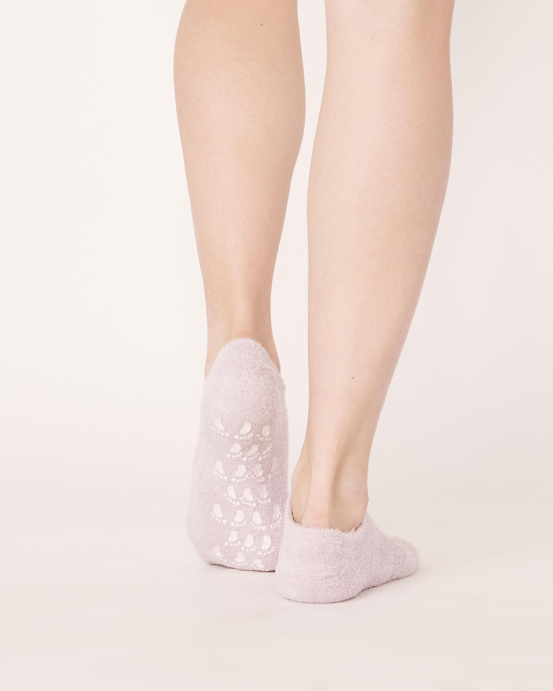 LA VIE EN ROSE Lavender Moisturizing Gel Socks Pale lilac 40700032 - View2