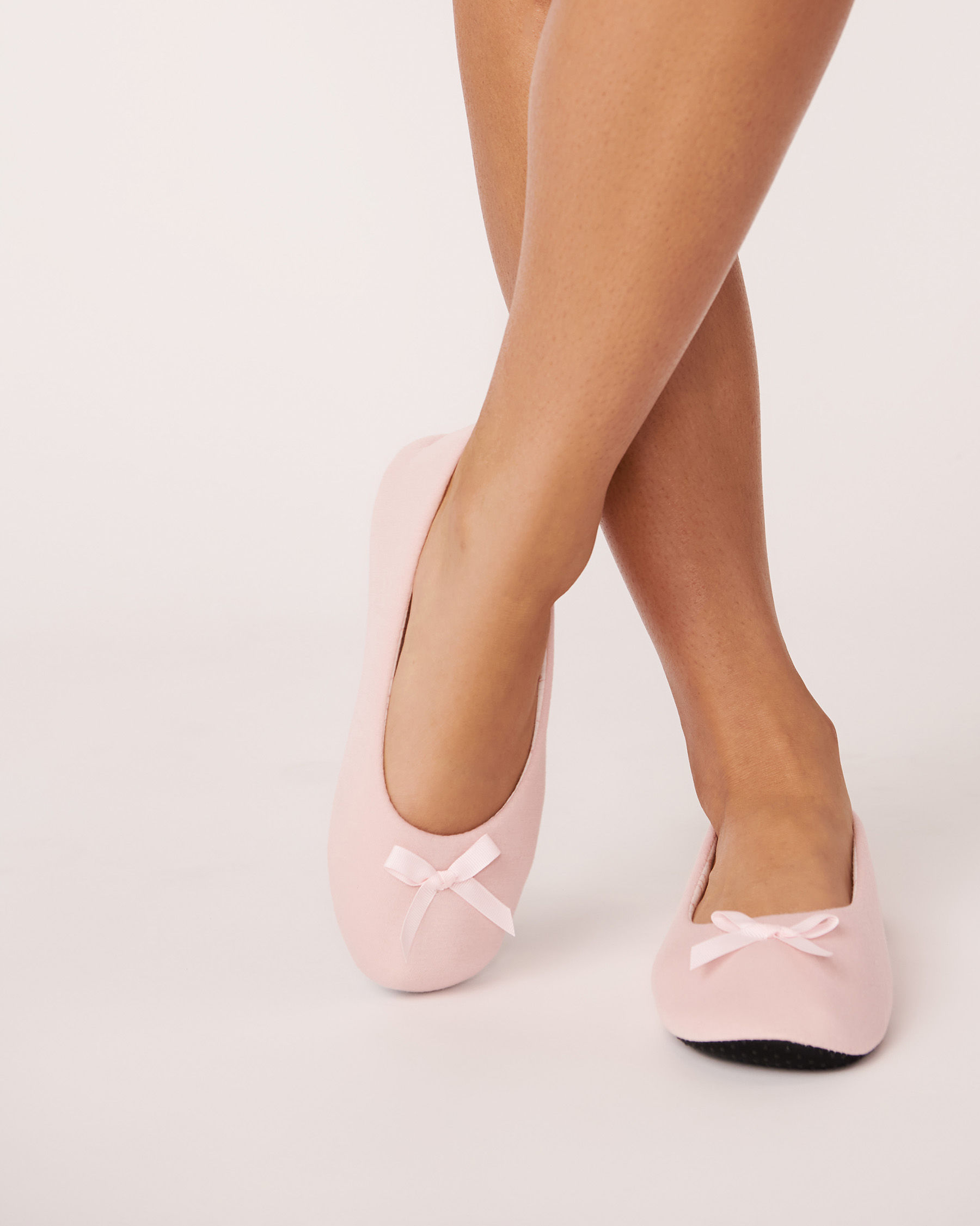 LA VIE EN ROSE Ballerina Slippers Pink 894-551-0-11 - View1