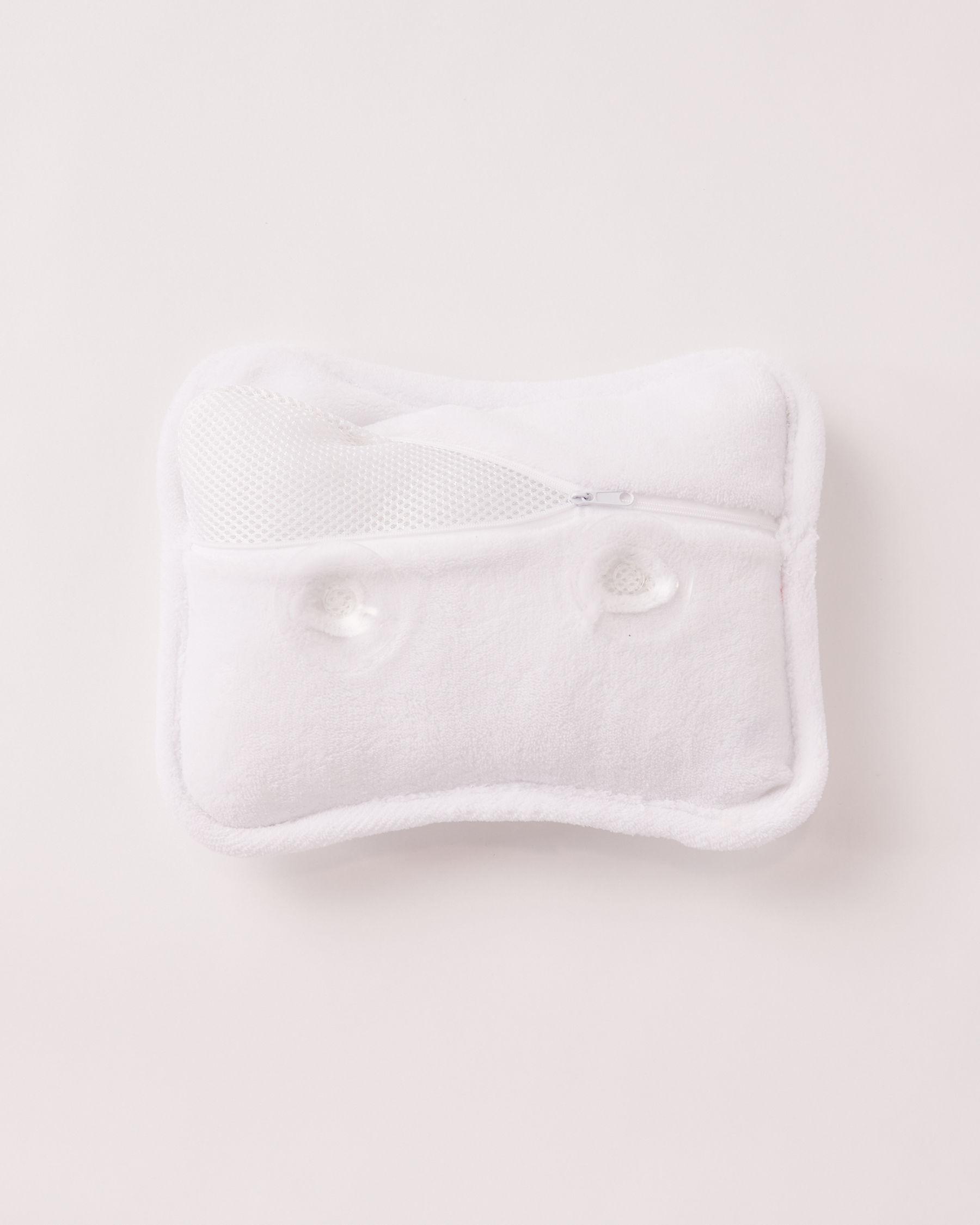 LA VIE EN ROSE Spa Bath Pillow White 992-527-0-06 - View4