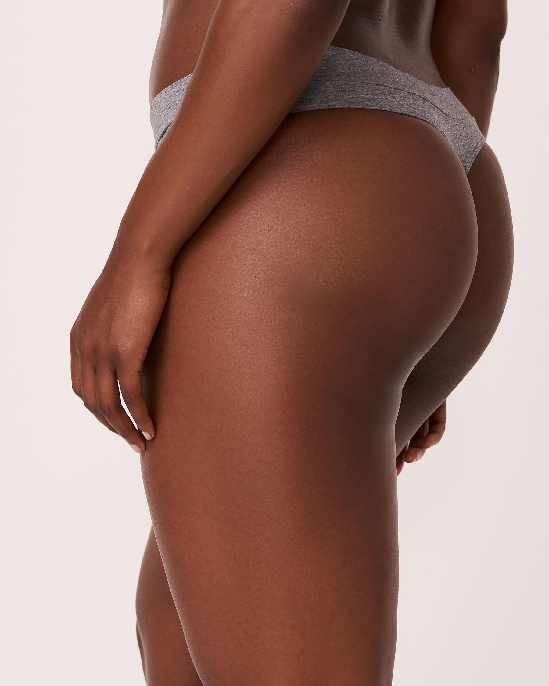 LA VIE EN ROSE Thong Panty Grey 564-211-0-00 - View2