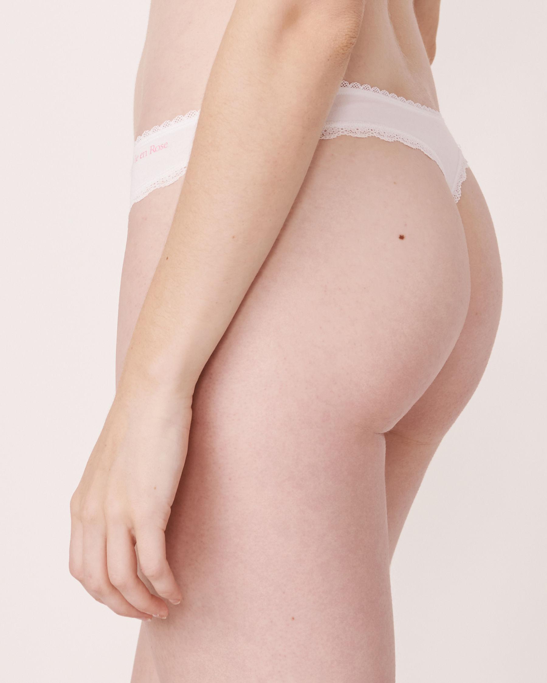 LA VIE EN ROSE Thong Panty White 891-211-0-00 - View2