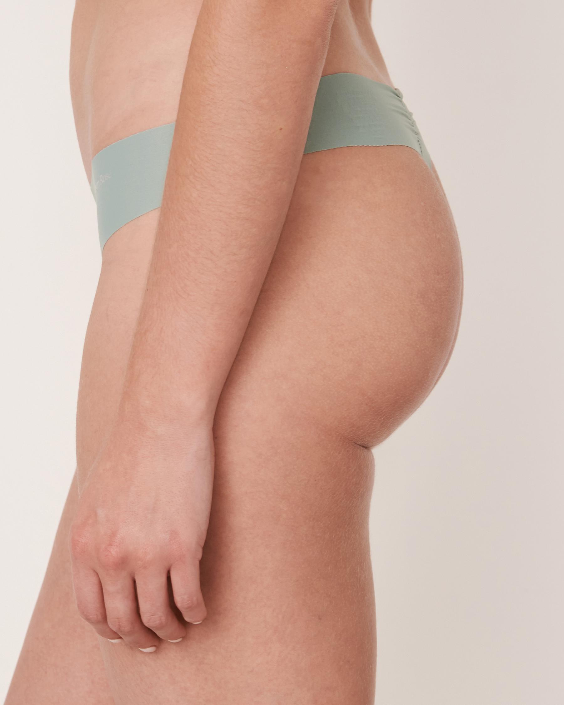 LA VIE EN ROSE Seamless Thong Panty Green 20200047 - View2