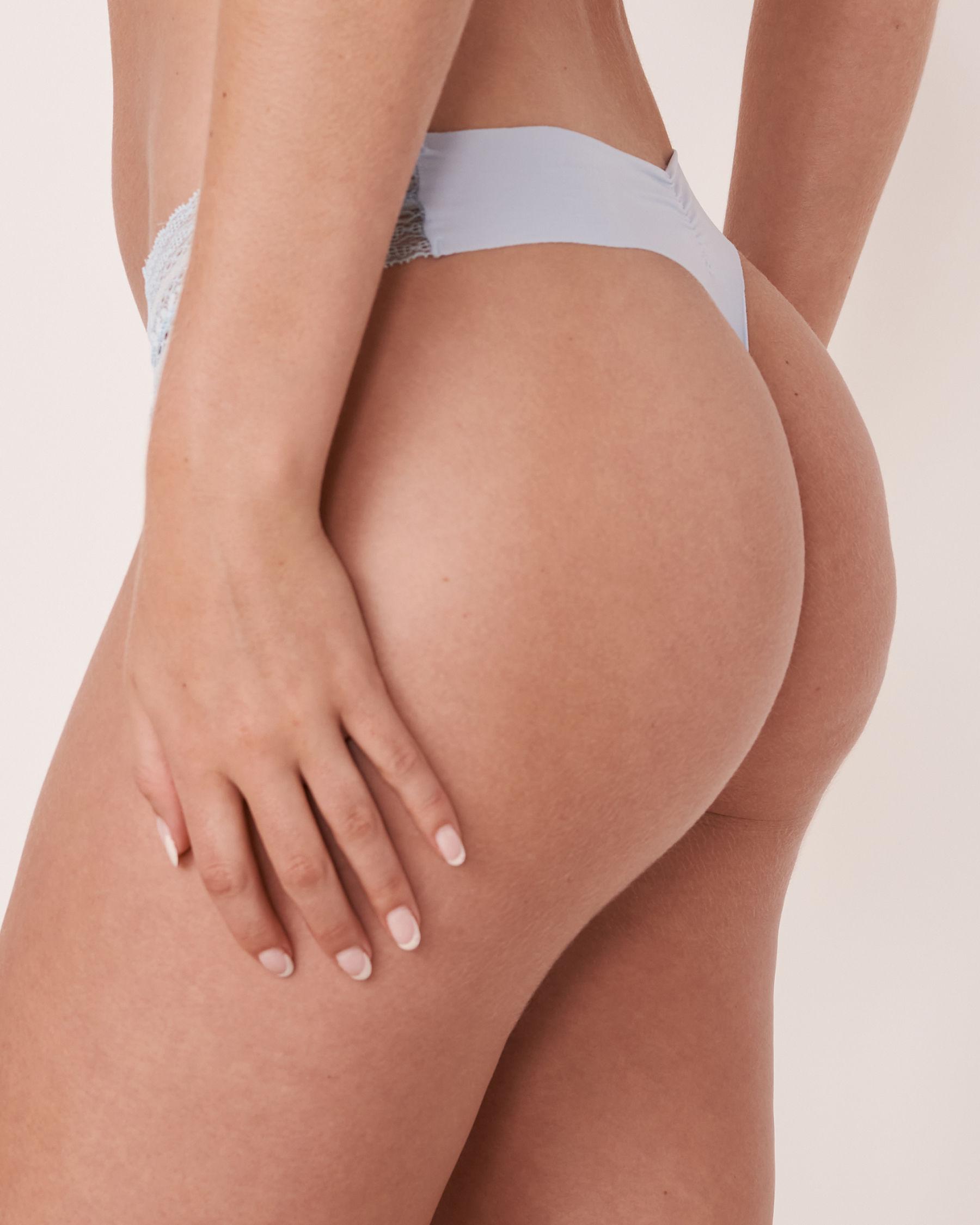 LA VIE EN ROSE Seamless Thong Panty Rêve bleu 20200063 - View2