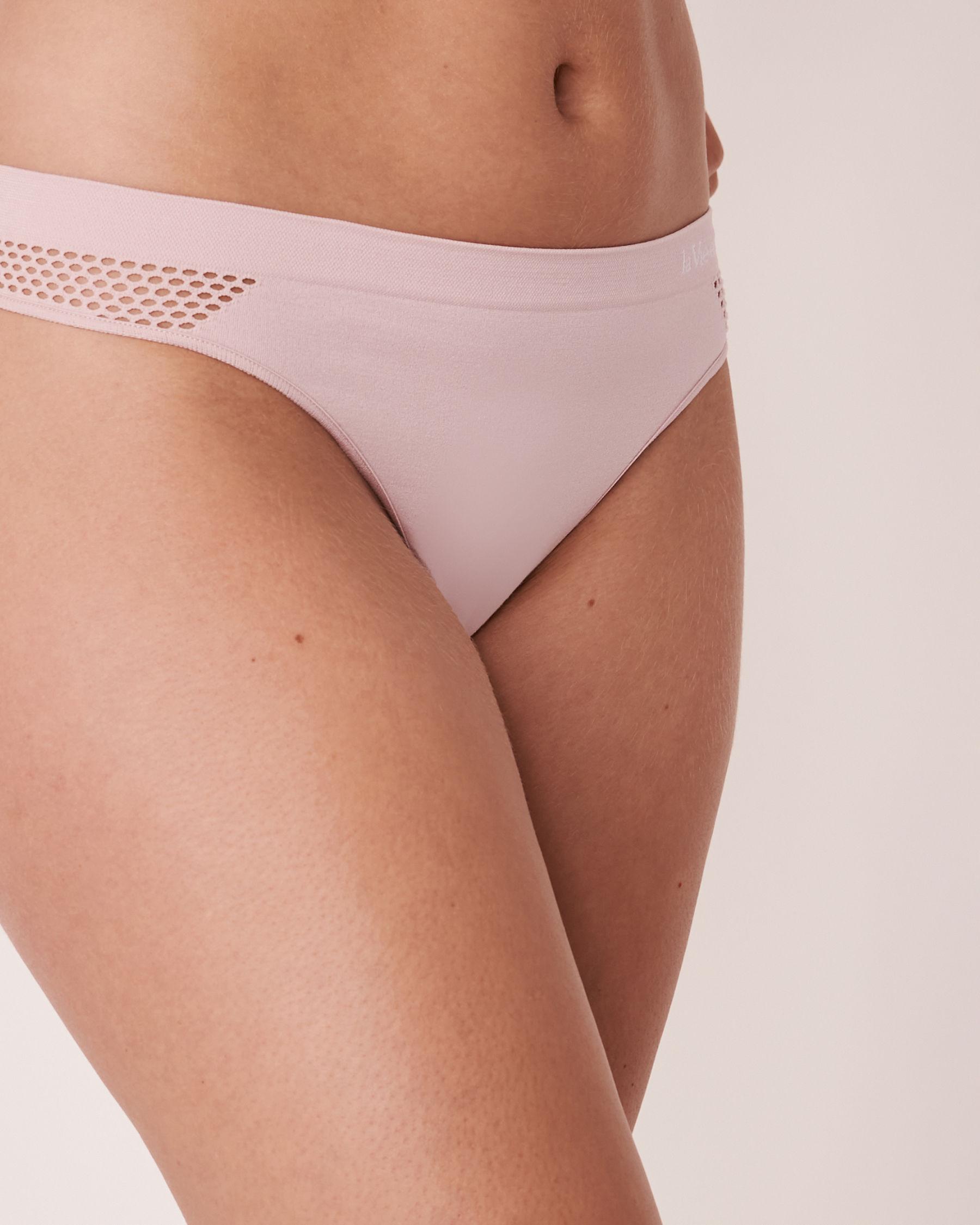 LA VIE EN ROSE Seamless Thong Panty Lilac 20200087 - View1
