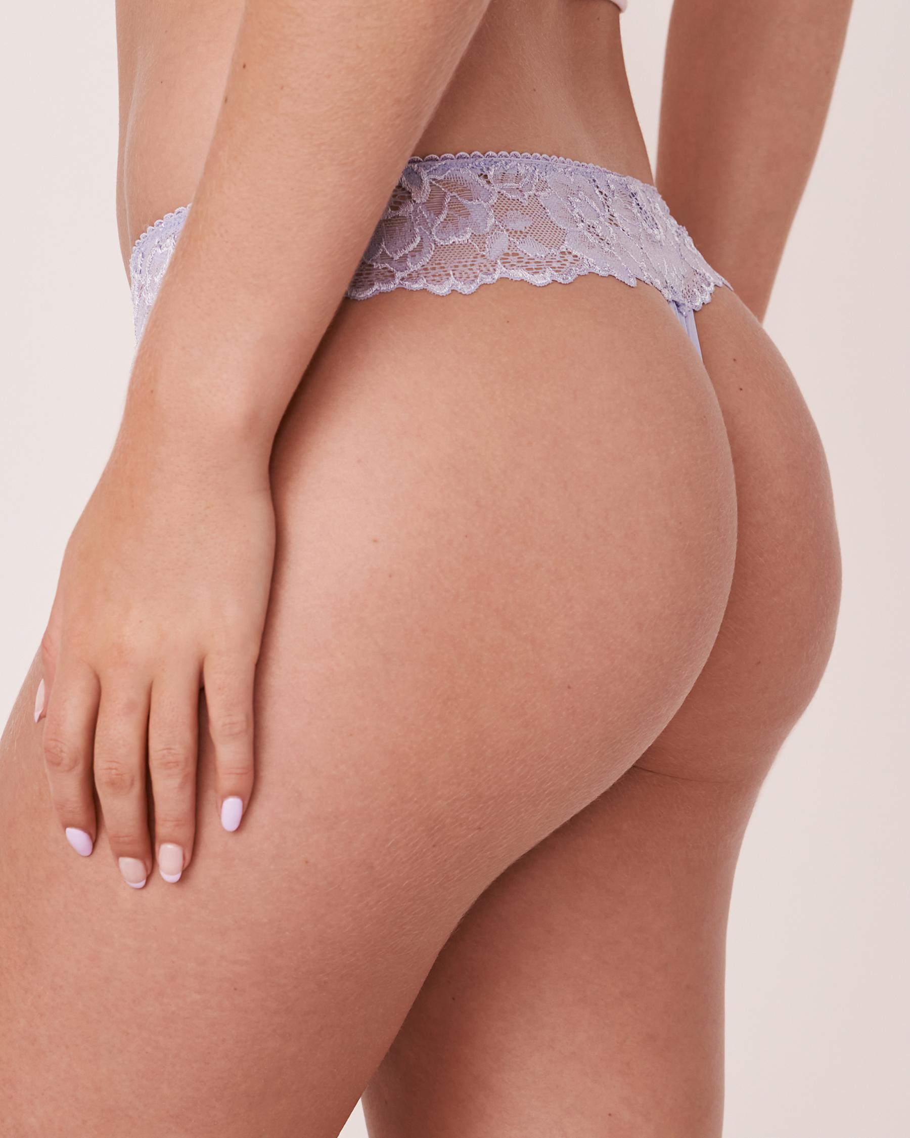 LA VIE EN ROSE Thong Panty Lavender 20200066 - View2