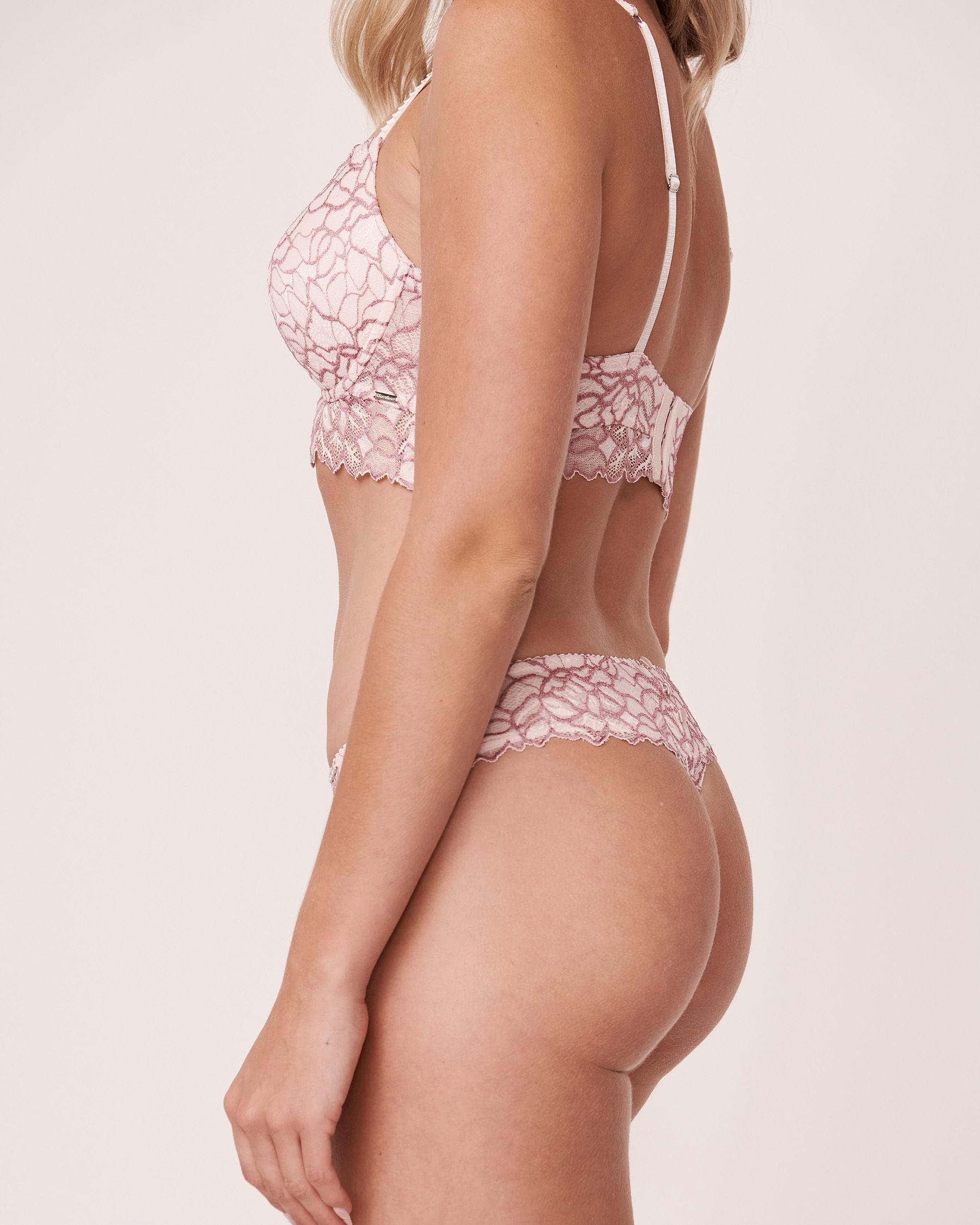 LA VIE EN ROSE Thong Panty Light pink 20300058 - View3
