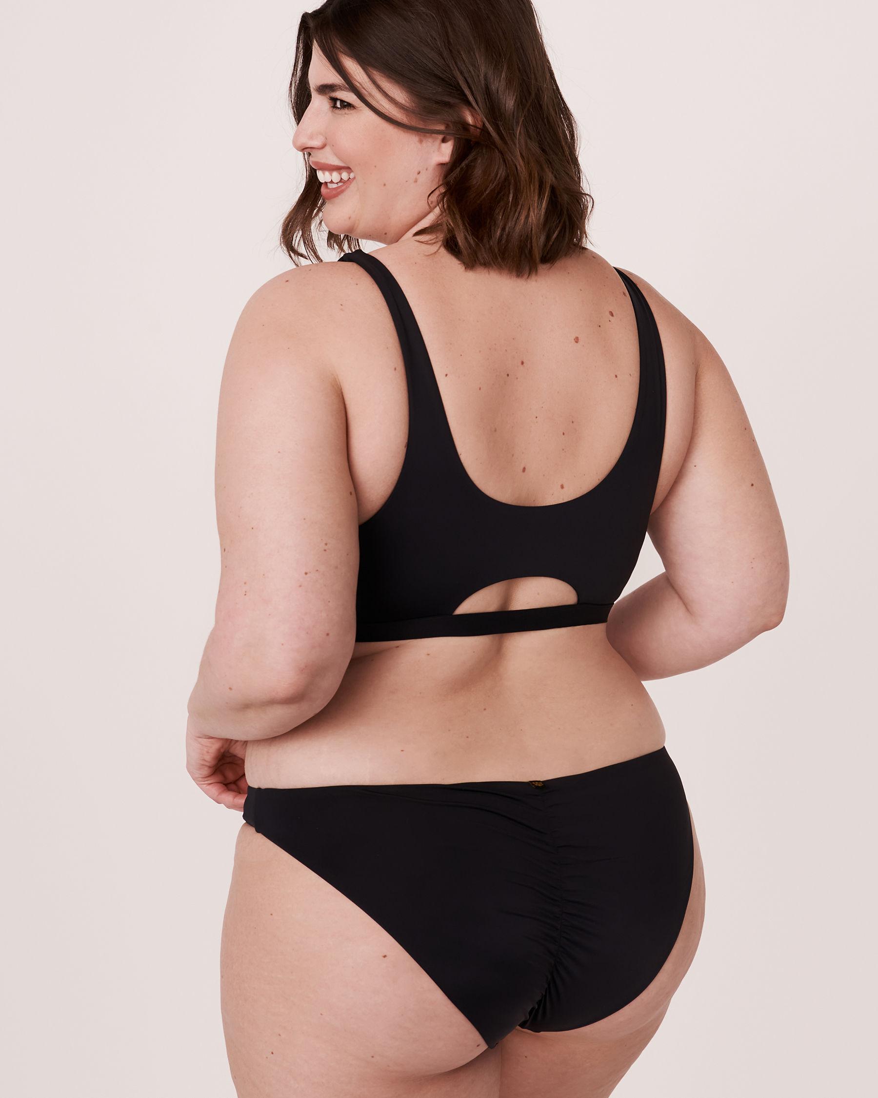 LA VIE EN ROSE AQUA Haut de bikini bralette SOLID Noir 70100113 - Voir2