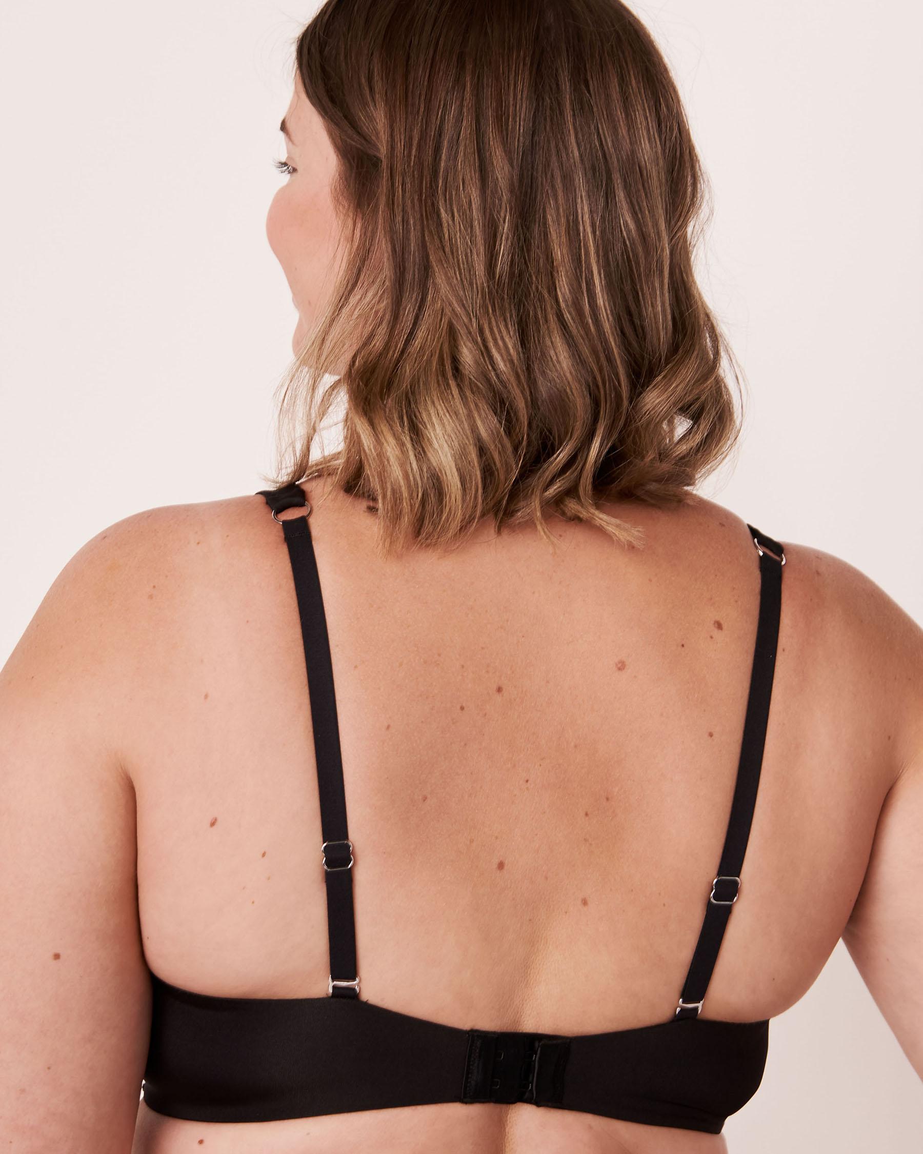 LA VIE EN ROSE Soutien-gorge doublure légère flexible couvrant Noir 10200078 - Voir6